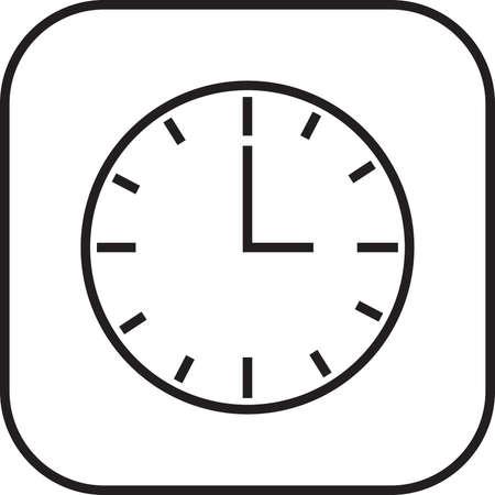 clock icon Stock Vector - 77439426