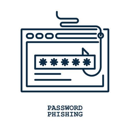 password phishing concept