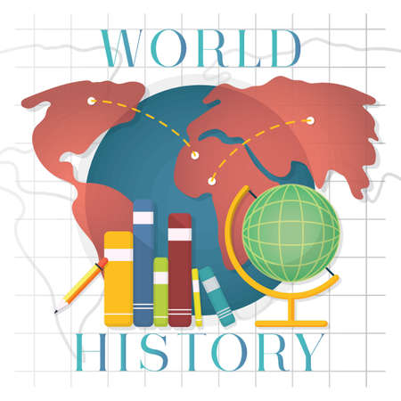 World history concept royalty free cliparts vectors and stock vector world history concept gumiabroncs Image collections