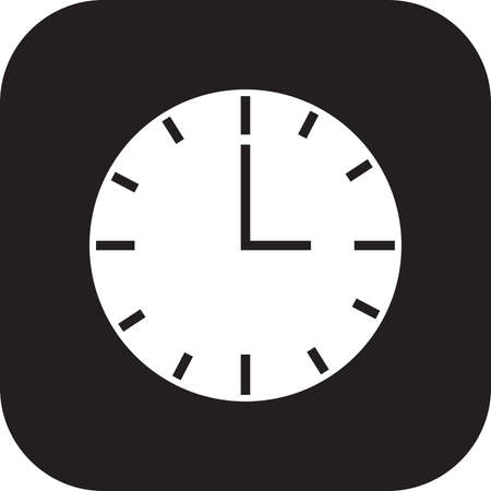 clock icon Stock Vector - 77439431