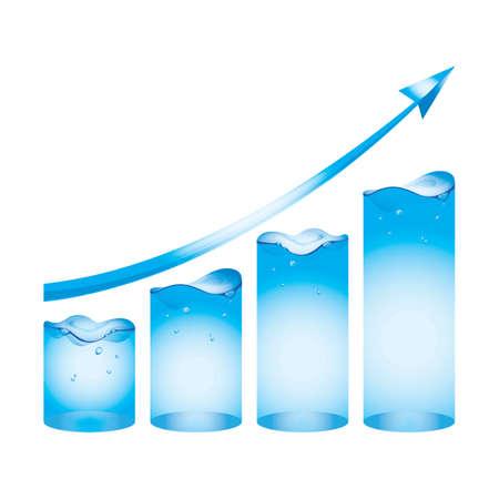 growth concept Иллюстрация