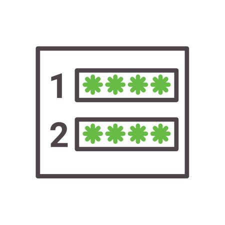 password confirmation concept Çizim