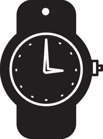 手首の時計アイコン 写真素材 - 77581995