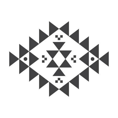Aztec pattern Ilustração