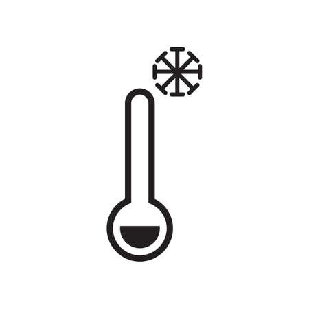 concept de température froide