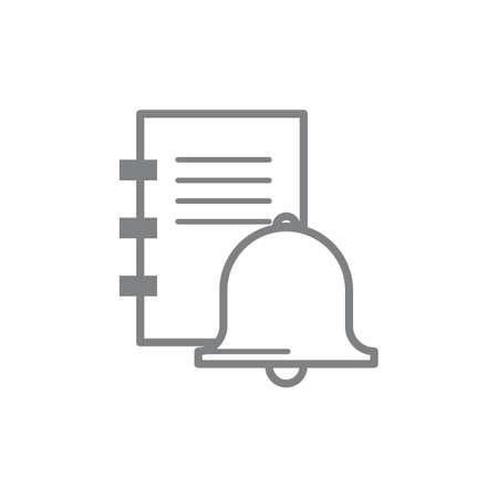 bell ringer: Reminder icon