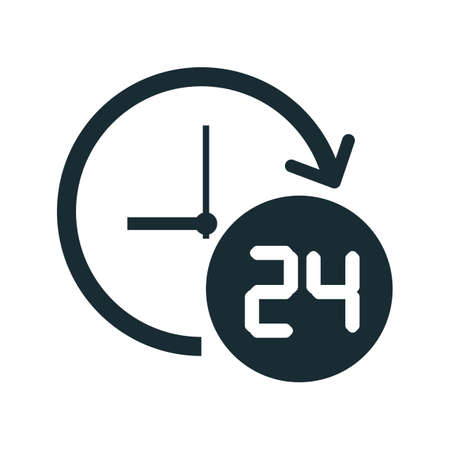 rotational: 24 hour icon
