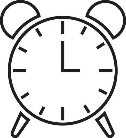 bell ringer: alarm clock icon