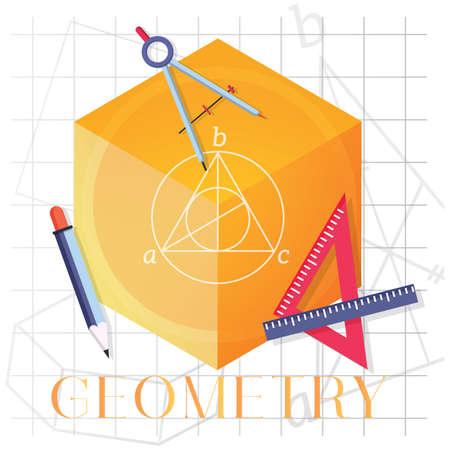 Geometrie-Konzept Standard-Bild - 77439458
