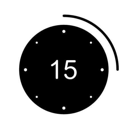 15 seconds icon Illustration