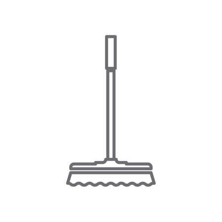 wiper mop