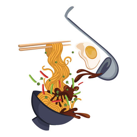 noodles exploded view