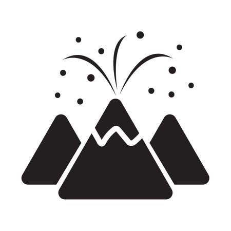 Volcanic eruption concept