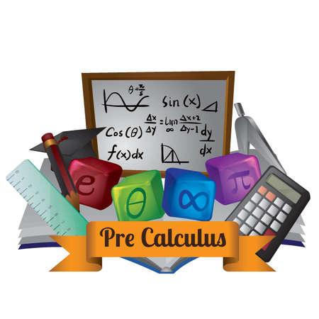 Precalculus concept Illustration