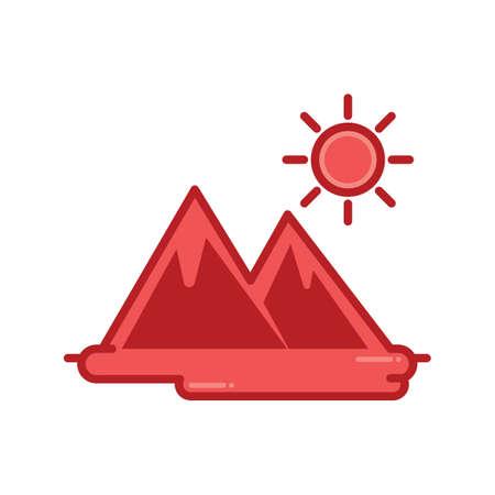 scorching: Scorching sun