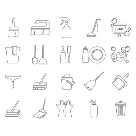 Set van gereedschapsmiddelen Stockfoto - 77177506