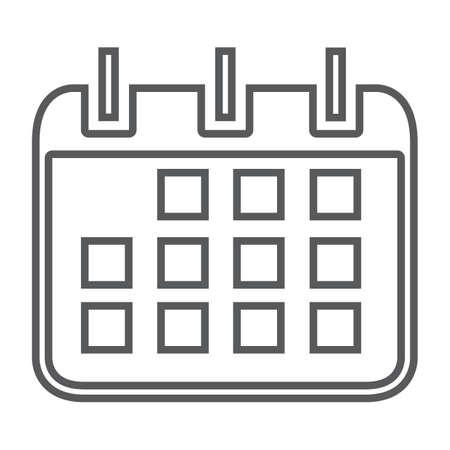 calendar icon Çizim