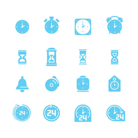 alerting: Collection of time icons
