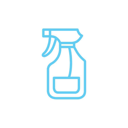 spray bottle Иллюстрация