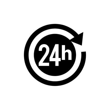 24 시간 아이콘