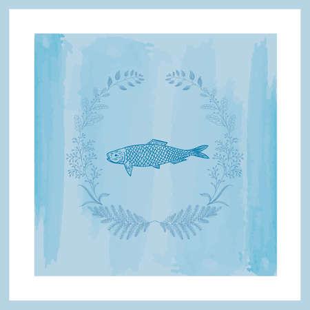 Fish design Illustration