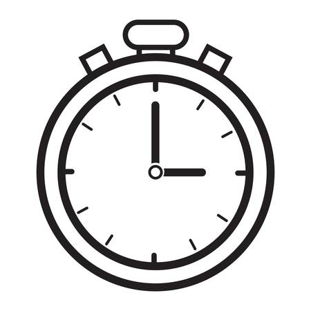 seconds: Timer icon Illustration