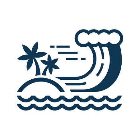 Tsunami Stock Vector - 77174520