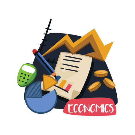 Economics academic subject Иллюстрация