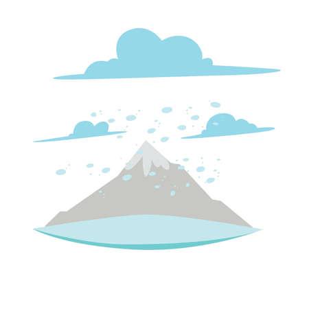 snowstorm Ilustração