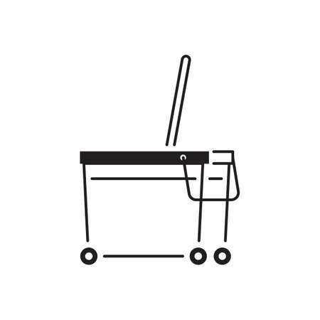 pail: mop pail