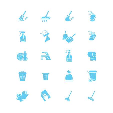 Collection d'outils de nettoyage