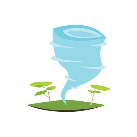 tornado Ilustração