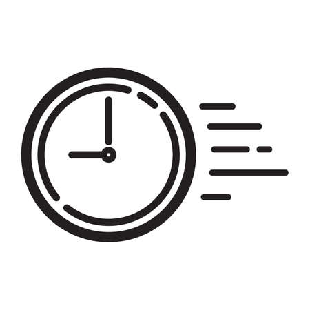 time goes by concept icon