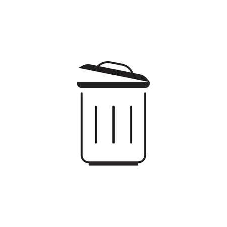 rubbish bin Ilustração
