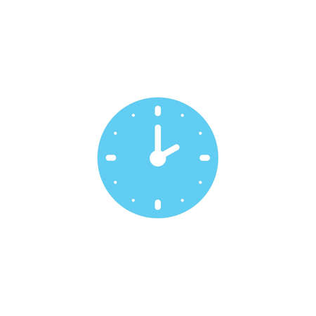 clock icon Stock Vector - 77179936