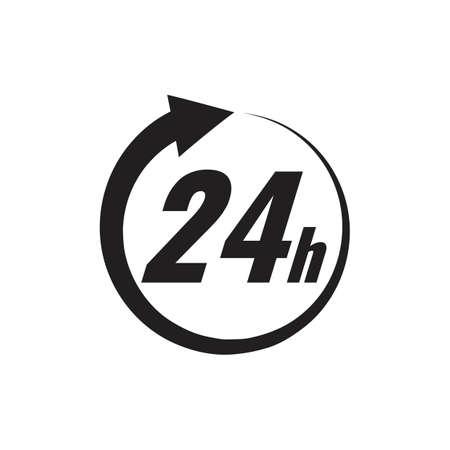 24 hour icon Imagens - 77180033