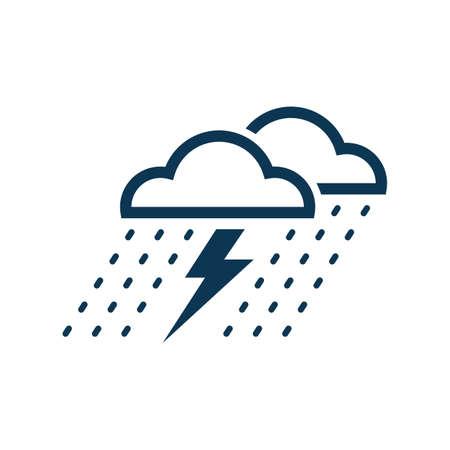 thunderstorm Reklamní fotografie - 77180215