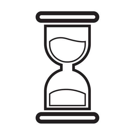 hour glass icon Illustration