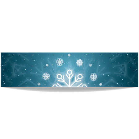winter banner Illustration