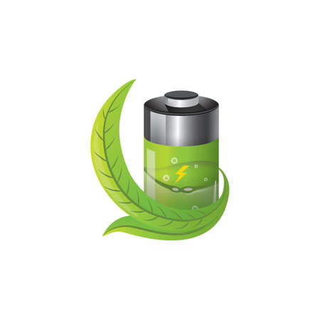 battery with ecology concept