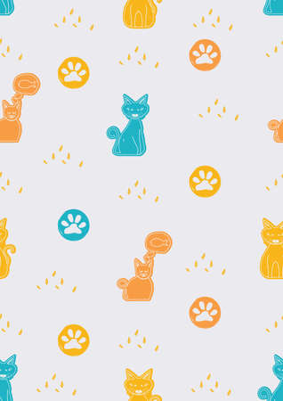 cats background design
