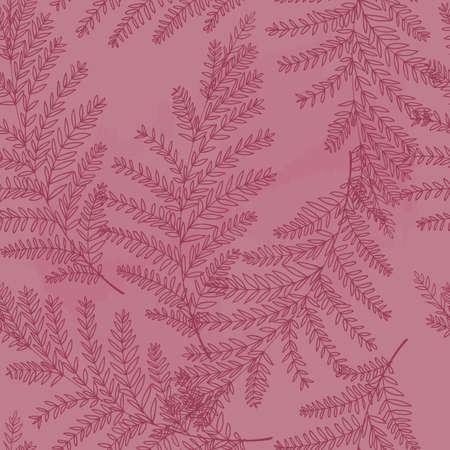 foliage background design Illustration