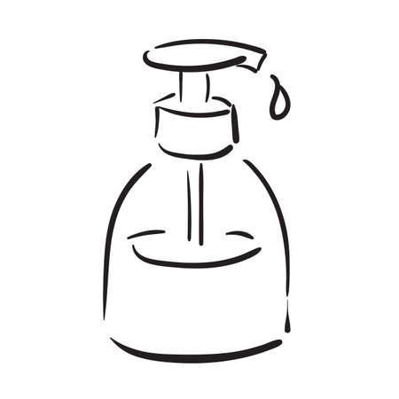 Dispensador de jabón Foto de archivo - 77245921