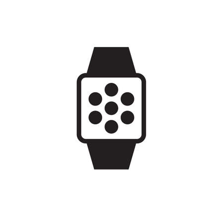 Smartwatch with app menu
