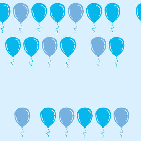 Balloons background design Illustration