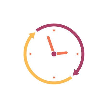Clock icon Ilustrace