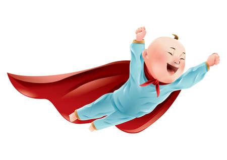 スーパー ヒーローの赤ちゃん