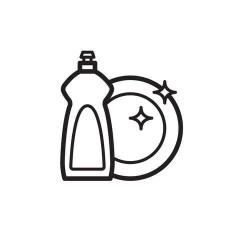 Afwasmiddel met plaat