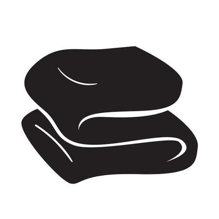 gevouwen handdoek