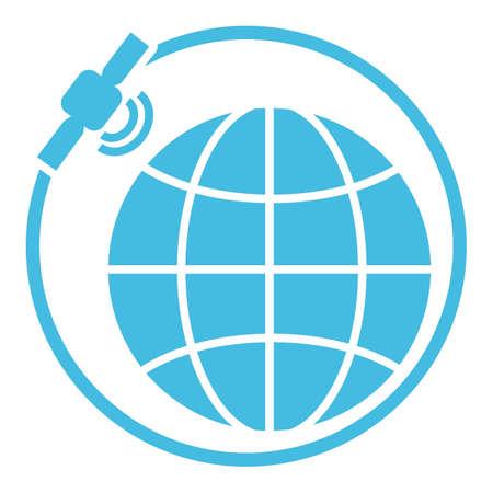 základní: Globální koncept satelitní orbity